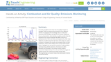 Combustion and Air Quality: Emissions Monitoring