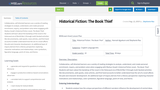 Historical Fiction: The Book Thief