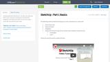 SketchUp : Part 1 Basics