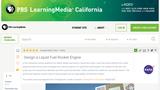 Design a Liquid Fuel Rocket Engine