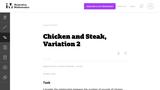 Chicken and Steak, Variation 2