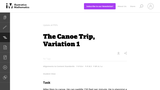 The Canoe Trip, Variation 1