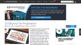 10 Steps To Tax Preparation