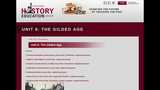 Reading Like a Historian, Unit 6: The Gilded Age