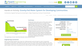 Gravity-Fed Water System for Developing Communities