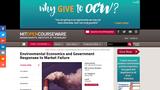 Environmental Economics and Government Responses to Market Failure, Spring 2005