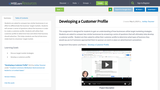 Developing a Customer Profile