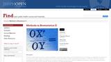 Methods in Biostatistics II