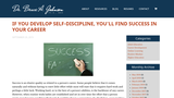 If You Develop Self-Discipline, You'll Find Success in Your Career