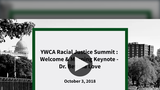 Dr. Bettina Love Keynotes at 2018 YWCA Racial Justice Summit