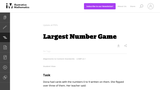 Largest Number Game