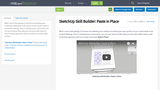 SketchUp Skill Builder: Paste in Place