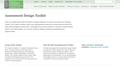 Assessment Design Toolkit