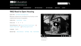 1962 The Road to Open Housing