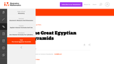 G-GMD  The Great Egyptian Pyramids