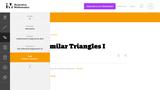 8.G Similar Triangles I