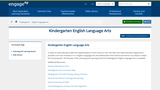 Common Core Curriculum: Kindergarten & Grade 1 ELA: Skills Strand