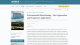 Environmental Biotechnology - New Approaches and Prospective Applications