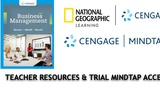 Burrow, Business Management Teacher Resources and Trial Online Access with BIT Standards Correlation (Cengage)