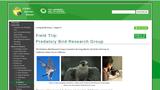 Field Trip, Predatory Bird Research Group
