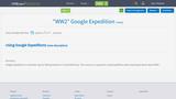 """WW2"" Google Expedition"