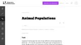 Animal Populations
