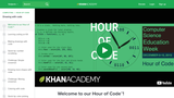 Learn to Code:  Hour of drawing with code