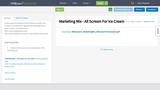 Marketing Mix - All Scream For Ice Cream
