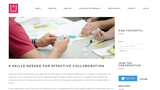 6 Skills Needed for Effective Collaboration – RISE Beyond