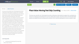 Place Value: Moving Past Skip Counting