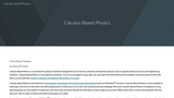 Calculus-Based Physics