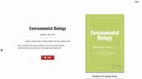 Environmental Biology