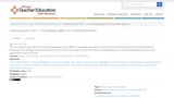 Learning Guide: Unit 7 - Counselling support for vulnerable learners