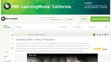 Building Video Literacy: Response