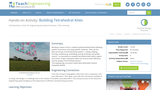 Building Tetrahedral Kites