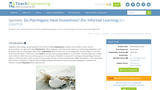 Do Ptarmigans Have Snowshoes? (for Informal Learning)
