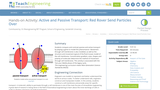 Active and Passive Transport: Red Rover Send Particles Over
