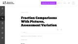 3.NF Fraction Comparisons With Pictures, Assessment Variation