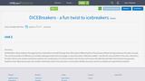 DICEBreakers - a fun twist to icebreakers