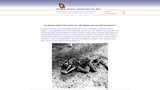 """""""An American soldier of the Antitank Co., 34th Regiment who was killed by mortar fire."""""""