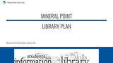 Mineral Point Library Plan
