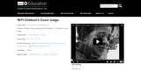 1971 Children's Court Judge
