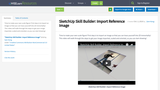 SketchUp Skill Builder: Import Reference Image