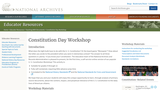 U.S. Constitution Workshop