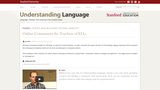 Online Community for Teachers of ELLs