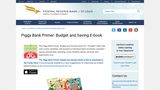 The Piggy Bank Primer: Budget and Saving E-book