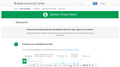 Sheets Cheat Sheet – Google Learning Center