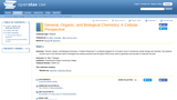 General, Organic, and Biological Chemistry: A Cellular Perspective