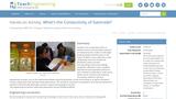 What's the Conductivity of Gatorade?