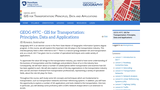 GIS for Transportation